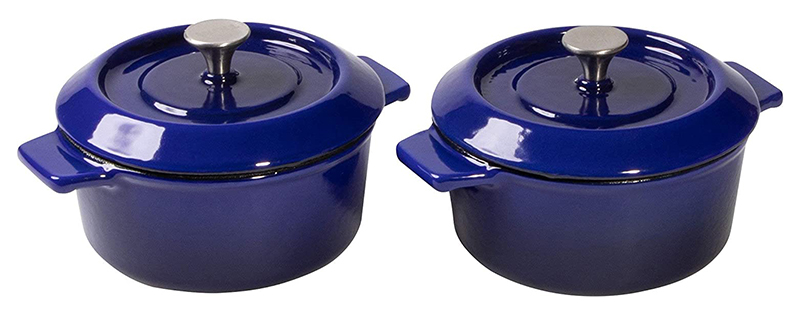Bộ 2 Nồi Gang Woll 110CI-020 Size 10cm Blue - 1