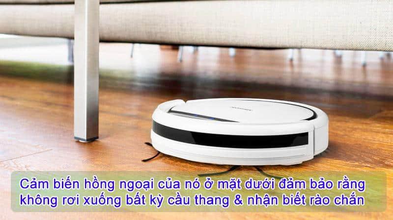 Robot Hút Bụi Medion MD18500 Màu Trắng