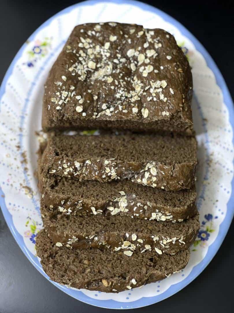 Bánh Mì Nguyên Cám Làm Bằng Máy Làm Bánh Mì