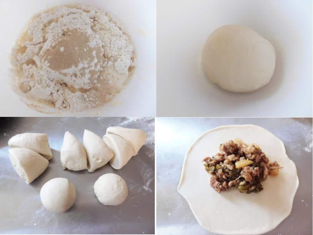 Cách làm bánh bao chiên bằng nồi chiên không dầu