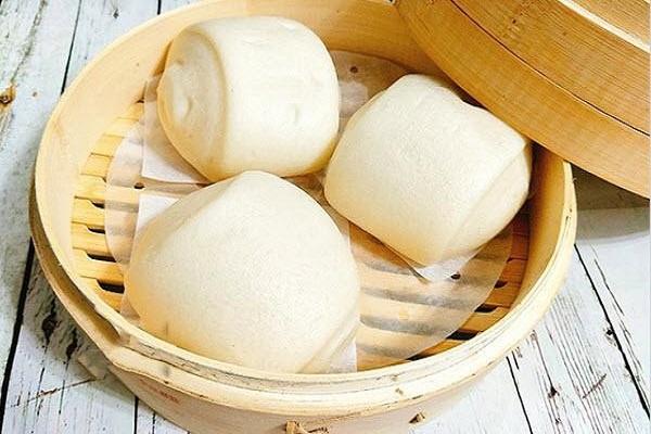 Cách làm bánh bao sữa chay không nhân