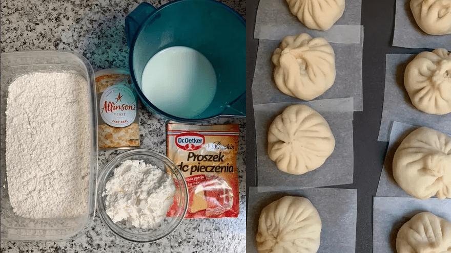 Cách làm bánh bao xá xíu