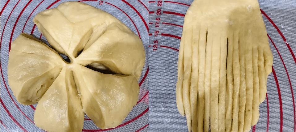 Cách làm bánh mì bơ sữa bằng nồi chiên không dầu
