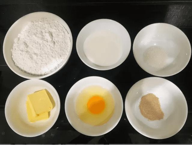 Cách làm bánh mì bơ sữa