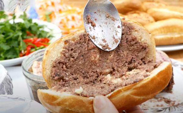 cách làm bánh mì pate ngon dễ làm