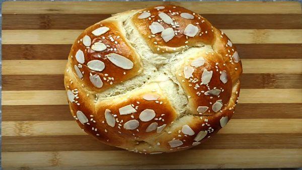 cách làm bánh mỳ hoa cúc bằng nồi chiên không dầu