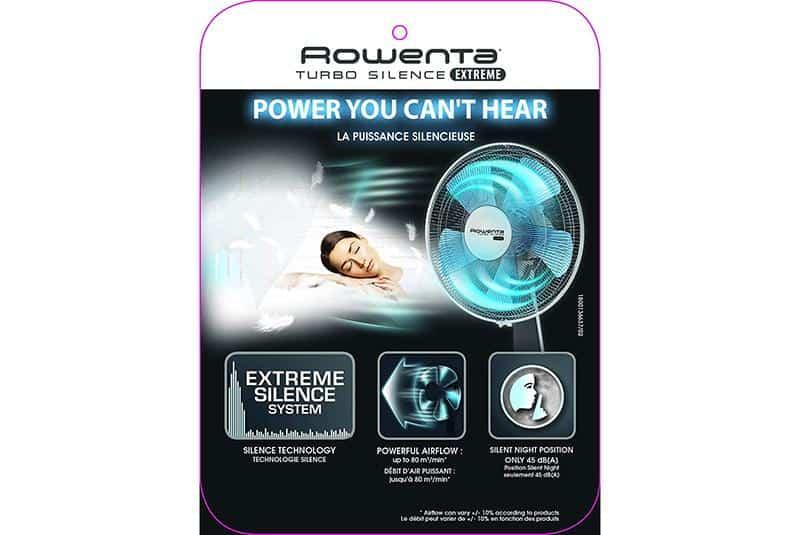 Quạt cây Rowenta VU5640/7X0 Turbo Silence Extrem - 3