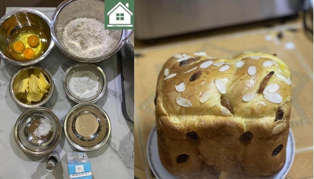 Công Thức làm bánh mì hoa cúc bằng máy làm bánh mì WMF Kult X