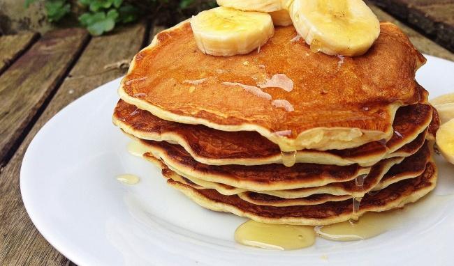 pancake chuoi yen mach eatclean