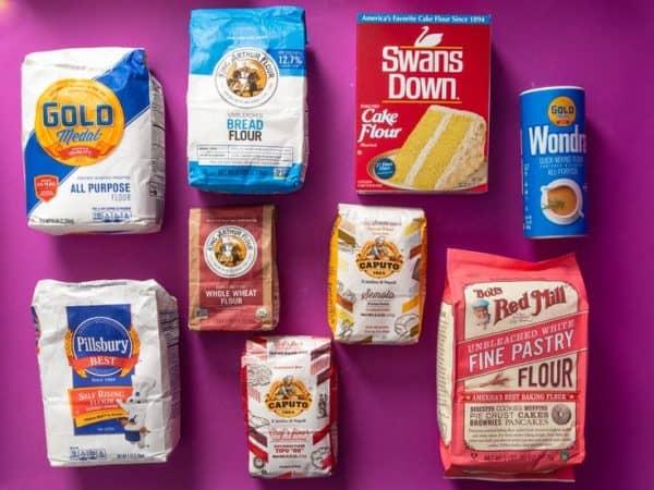 Phân biệt một số loại bột mì làm bánh