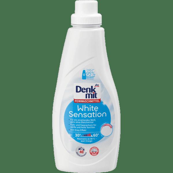 Nước Giặt Tẩy Trắng Denkmit White Sensation 1L