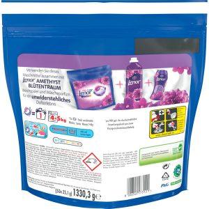 Nước Giặt Quần Áo Màu Dm All-in-1 Color Waschmittel 53 Viên