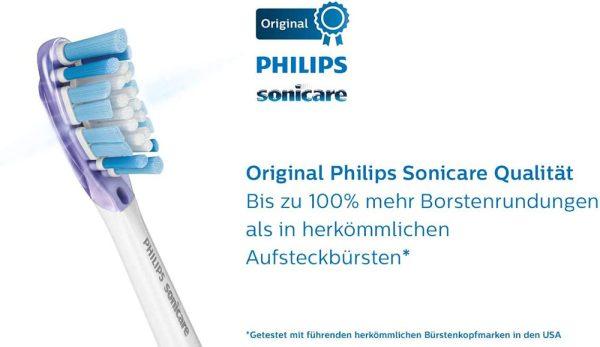 Bộ 4 Đầu Bàn Chải Điện Philips HX9054/17 Sonicare Premium Gum Care - Màu Trắng-3