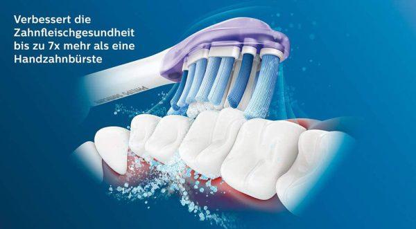 Bộ 4 Đầu Bàn Chải Điện Philips HX9054/17 Sonicare Premium Gum Care - Màu Trắng-1