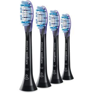 Bộ 4 Đầu Bàn Chải Điện Philips HX9054/33 Sonicare Premium Gum Care - Màu Đen