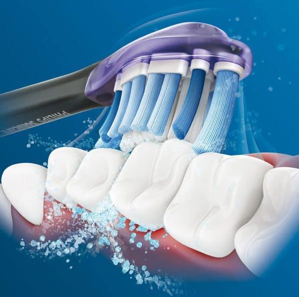 Bộ 4 Đầu Bàn Chải Điện Philips HX9054/33 Sonicare Premium Gum Care - Màu Đen-1