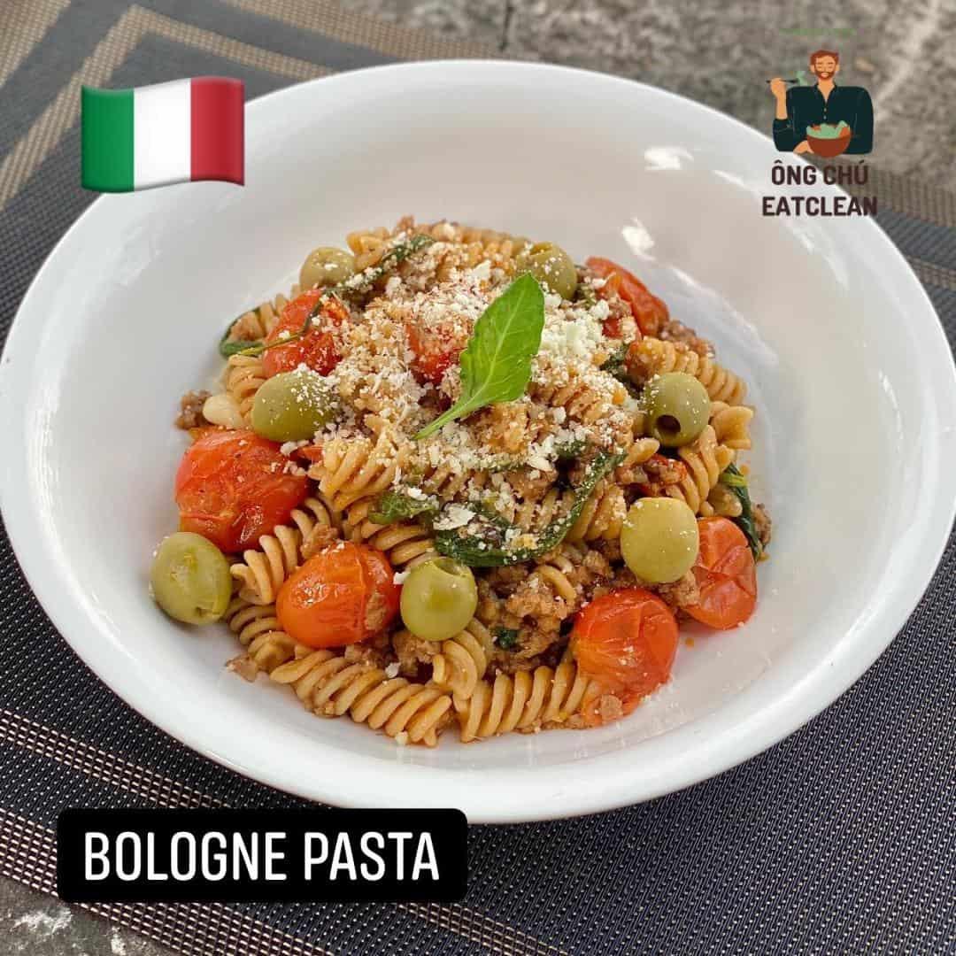 Bologne Pasta Eat Clean