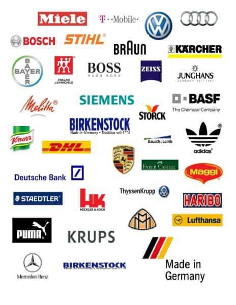Các công ty nổi tiếng của Đức
