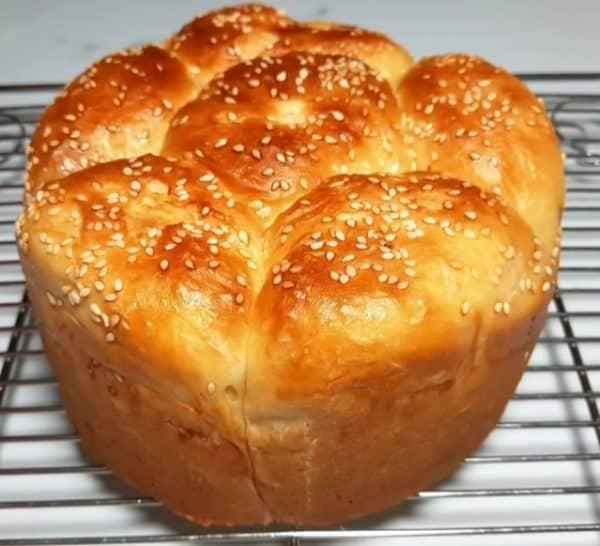cách làm bánh mì hoa cúc bằng nồi cơm điện
