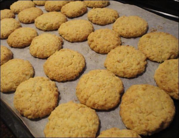 cách làm bánh quy bơ dừa