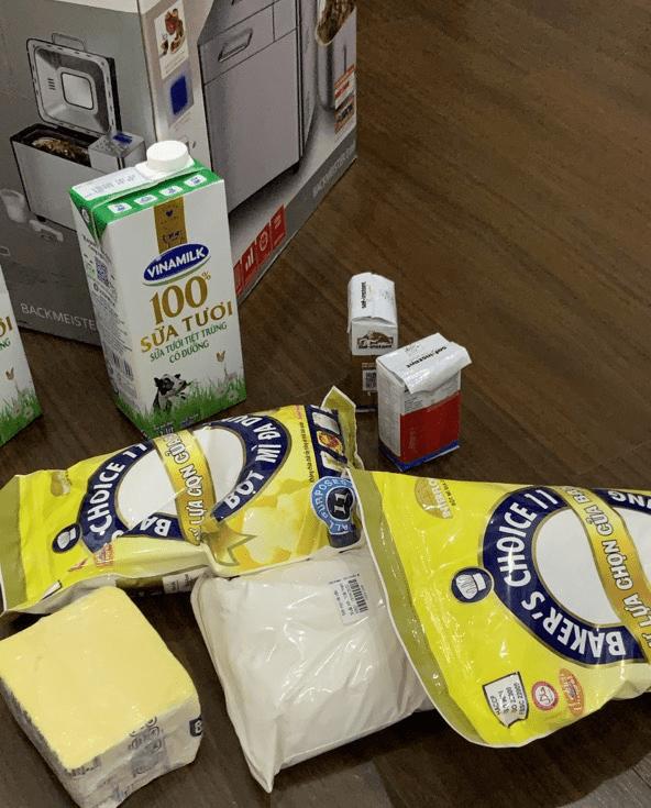 Cách làm bánh mì bằng máy Unold