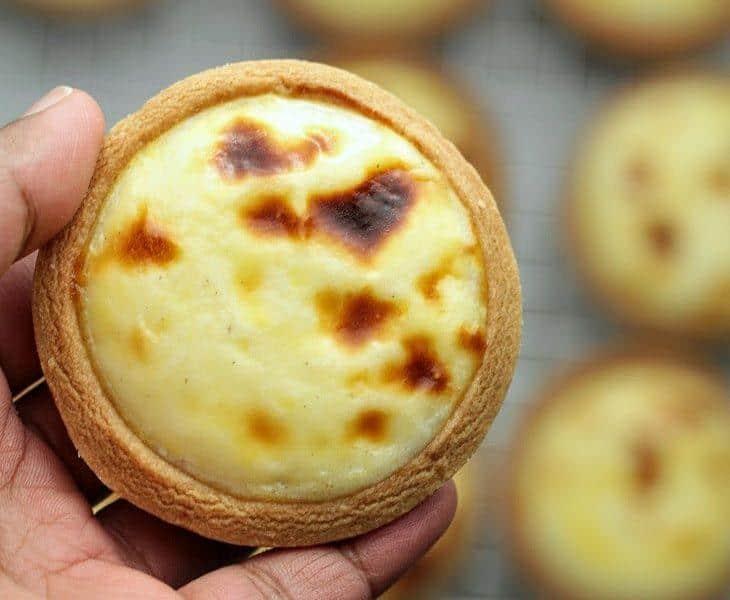 cách làm bánh tart phô mai Hokkaido tại nhà