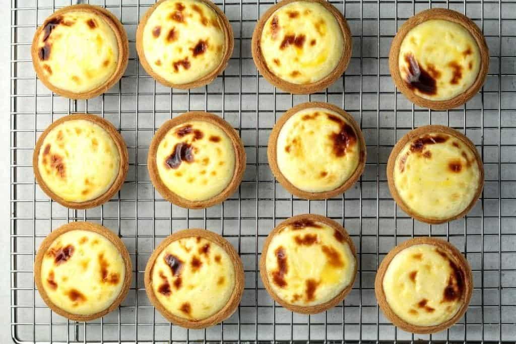 Cách làm bánh tart phô mai Hokkaido ăn hoài không chán