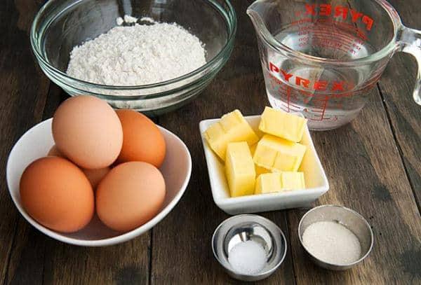 nguyên liệu làm bánh quy bơ