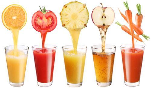 10 công thức nước ép giảm cân