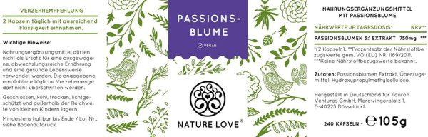 Viên Nang Nature Love PassionsBlume 240 Viên - Chiết Xuất Từ Hoa Lạc Tiên-3