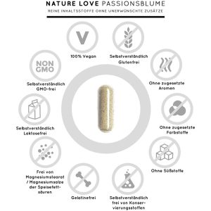 Viên Nang Nature Love PassionsBlume 240 Viên - Chiết Xuất Từ Hoa Lạc Tiên