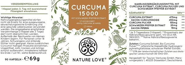 Viên Nang Nghệ Nature Love Curcuma 15000-5