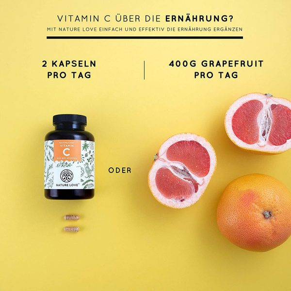 Viên Nang Nature Love Vitamin C Aus Bio Acerola 180 Viên-4