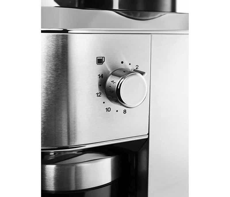 Máy có 18 nấc cài đặt xay, cho phép bạn pha bất cứ thứ gì từ cà phê espresso mạnh đến cà phê phin nhẹ - 2