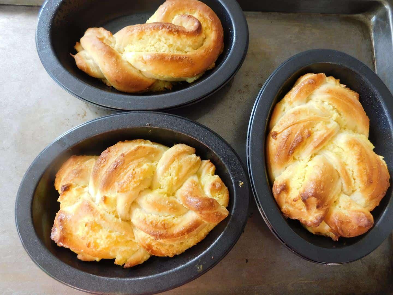 5.Cách Làm Bánh Mì Dừa Nướng Bằng Nồi Chiên Không Dầu