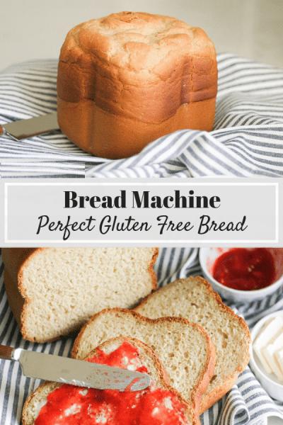 bánh mì không chưa gluten với máy làm bánh mì
