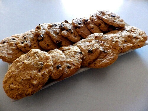 • Công thức làm bánh quy sô cô la không chứa gluten