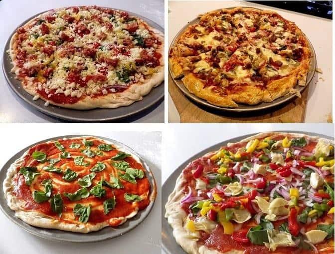Công thức làm bánh Pizza không chứa gluten