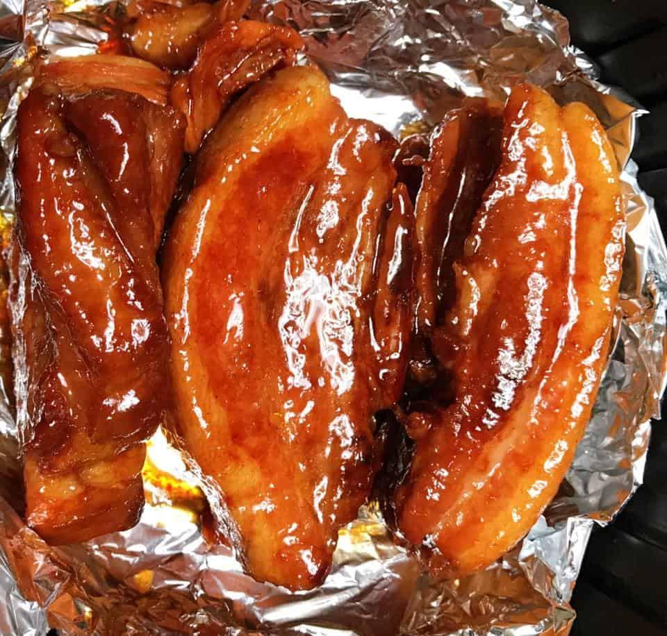 Cách làm thịt heo xá xíu bằng lò nướng