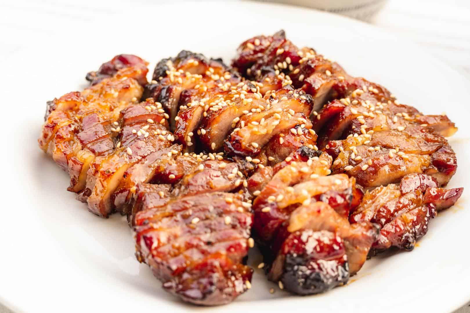 Cách làm thịt xá xíu bằng chảo