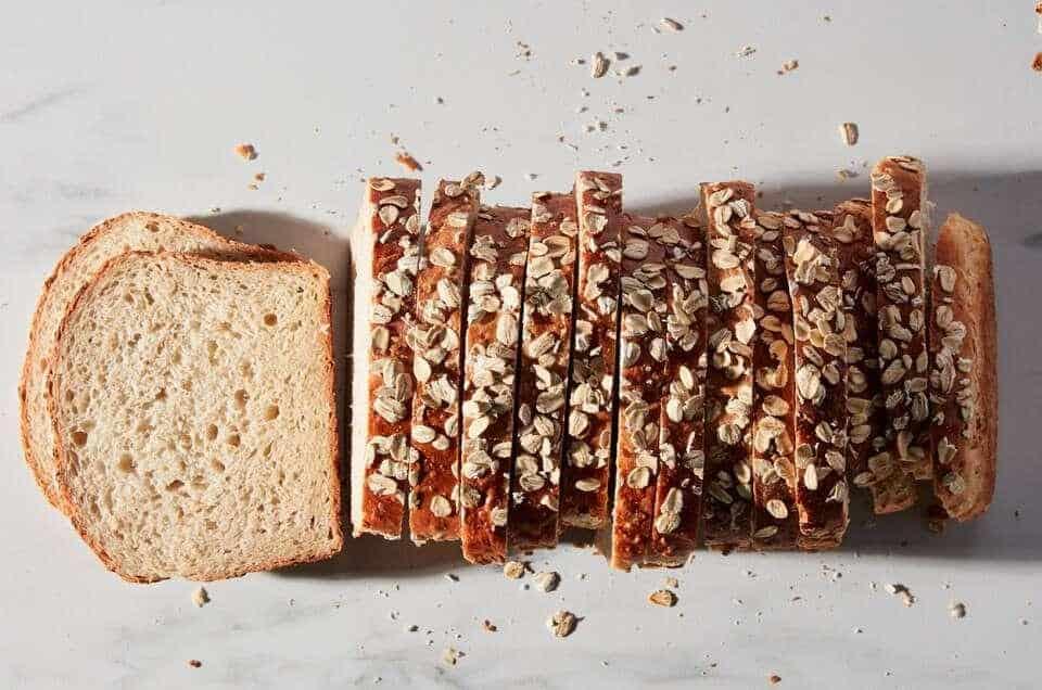 Công thức bánh mì yến mạch