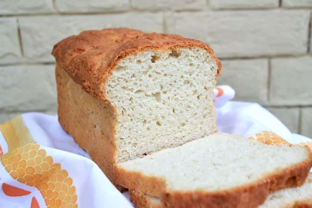 Công thức bánh mì trắng không chứa gluten
