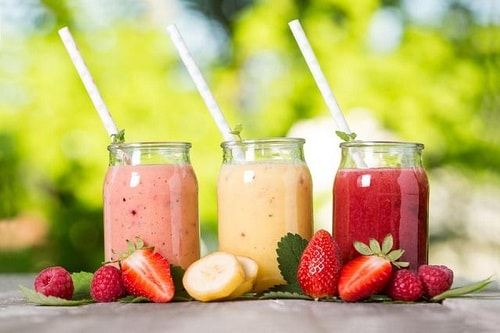 sinh tố healthy rau, quả